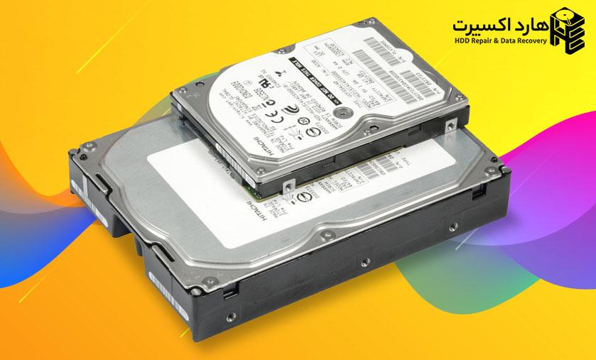 تفاوت اندازه هارد دیسک های 3.5 و 2.5 اینچی
